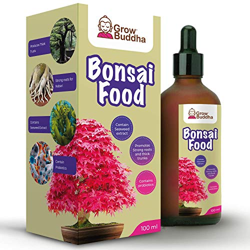 Grow Buddha Bonsai-Düngemittel Lebensmittel 100ml Spezialfutter für...