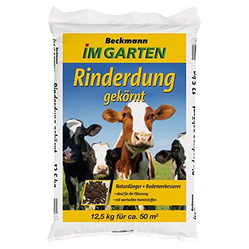 Beckmann Rinderdung Kuhmist Gartendünger Universaldünger Dünger organisch,...
