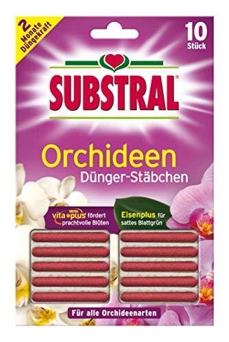 Substral Orchideen-Düngestäbchen mit Eisen-Plus und 2 Monate Langzeitwirkung,...