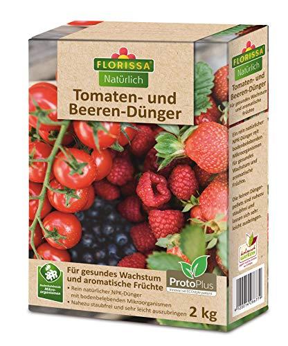 Florissa Natürlich 58677 Tomaten-und Beeren Dünger | Bio-Dünger mit ProtoPlus...