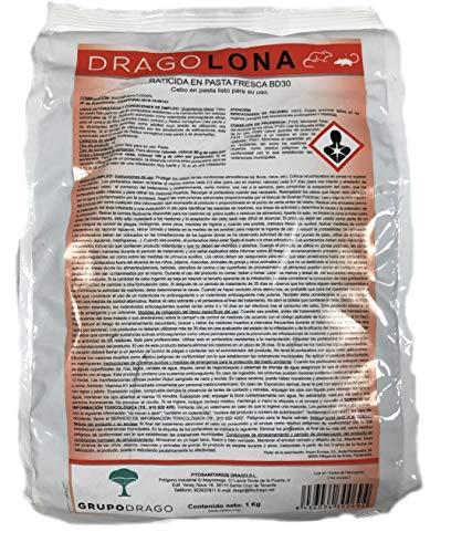 DRAGOLONA Professional Rodenticide für den Außenbereich gegen Ratten und...