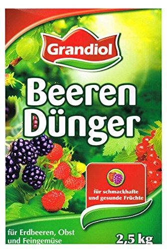 Grandiol Organischer mineralischer Beerendünger 2,5 Kg mit Magnesium
