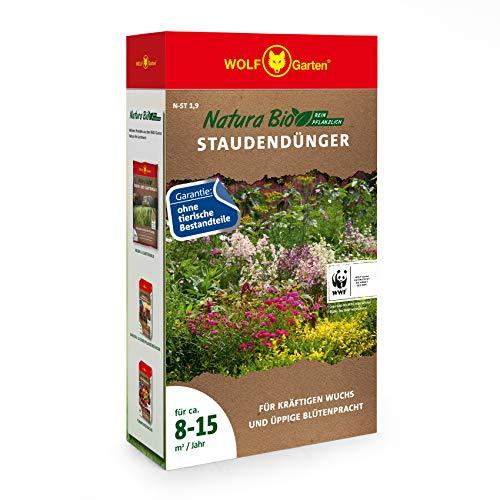 WOLF-Garten - 'Natura Bio' Staudendünger N-ST 1,9 für ca. 8-15 m²/Jahr;...