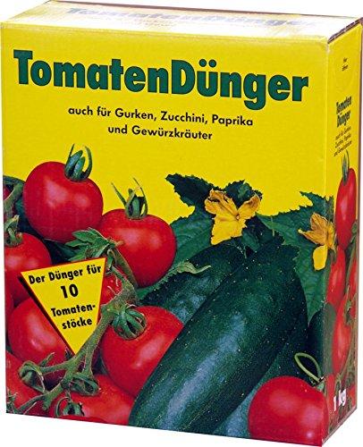 Tomatendünger 4x 1 kg = 4 kg Dünger Tomaten Tomate GPI