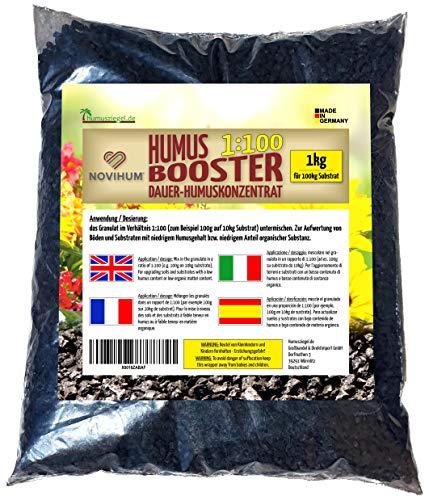 Humusziegel NOVIHUM Hochbeeterde - Booster für Hochbeet - Bodenverbesserer -...