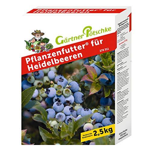 Pflanzenfutter für Heidelbeeren, 2,5 kg