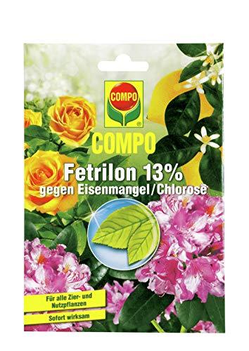 Compo Fetrilon 13%, Dünger gegen Eisenmangel/Chlorose für alle Zier- und...