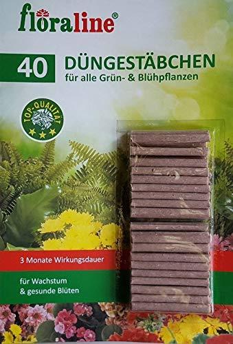 Düngestäbchen für Zimmer und Balkonpflanzen, 3 Monate Langzeitwirkung, 40...