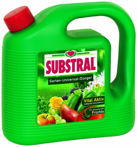 Substral Garten-Universal-Dünger, Spezial-Flüssigdünger für alle Blumen,...