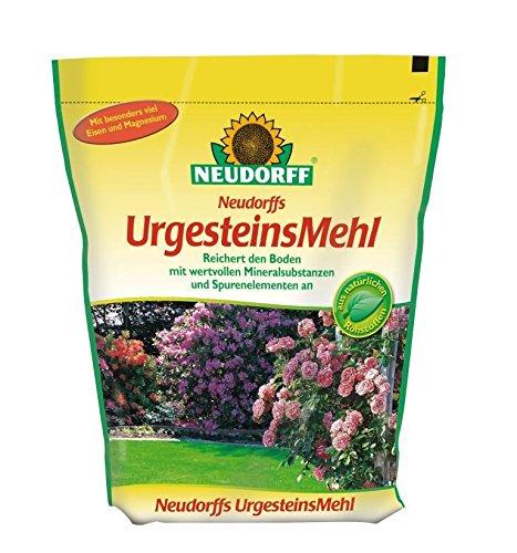 Neudorff UrgesteinsMehl 2,5 Kg mit Mineralen und Spurenelementen zur...
