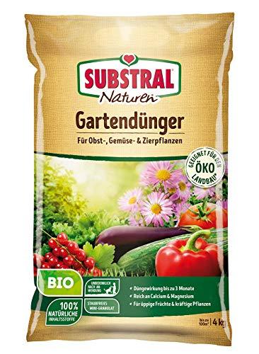 Substral Naturen Bio Gartendünger, natürlicher Universaldünger für Obst-...