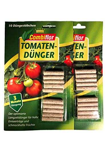 Combiflor XXL Düngestäbchen Tomaten 20 Stück Tomatendünger