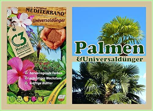 Freilandpalmendünger, Palmendünger, Hanfpalmendünger 1,5 Kg Original...