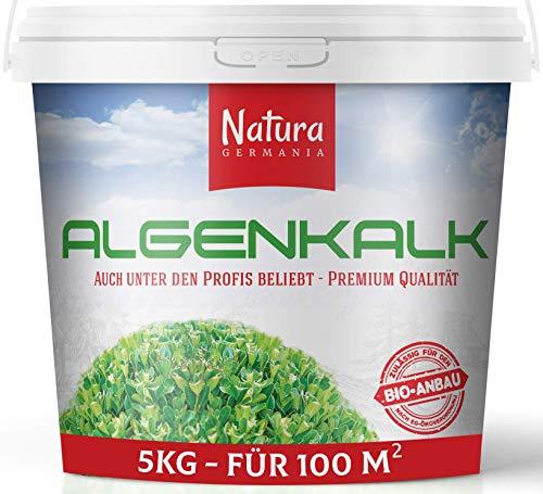 Natura Germania Algenkalk Pulver, 100% reines Premium Algenkalk, Regeneriert und...