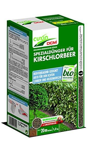 Cuxin 51301 Spezialdünger für Kirschlorbeer, 1,5 kg
