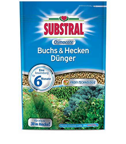 SCOTTS Substral® Osmocote Buchs & Hecken Dünger, 750 g