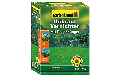 Gartenkrone 3 Kg Rasendünger mit Unkrautvernichter