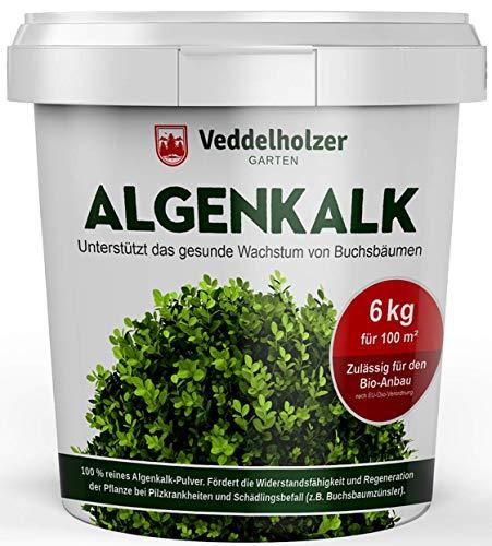 Veddelholzer 6 kg Bio Algenkalk 100% reines Pulver aus Meeresalgen aus dem...