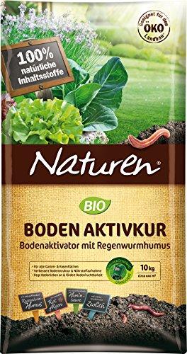 Naturen Bio Bodenaktivkur Natürlicher Bodenaktivator zur Verbesserung der...
