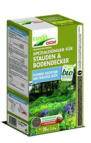 Cuxin 1,5 Kg Bio Staudendünger für ca. 20m² ⎜organischer langzeit Dünger...