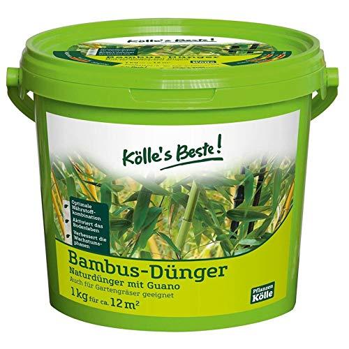 Kölle's Beste! Bambusdünger für satt güne und dichte Bätter, praktisches...