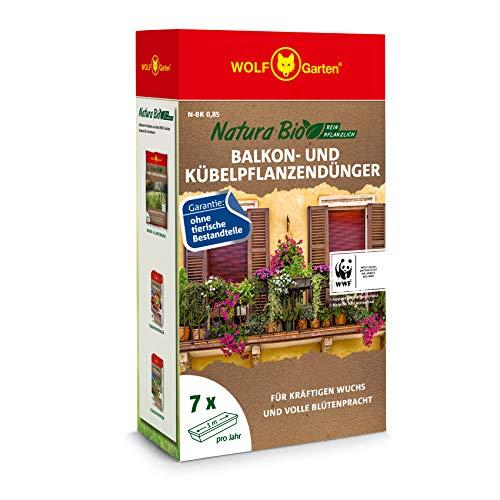 WOLF-Garten - 'Natura Bio' Balkon- und Kübelpflanzendünger N-BK 0,85 für ca....