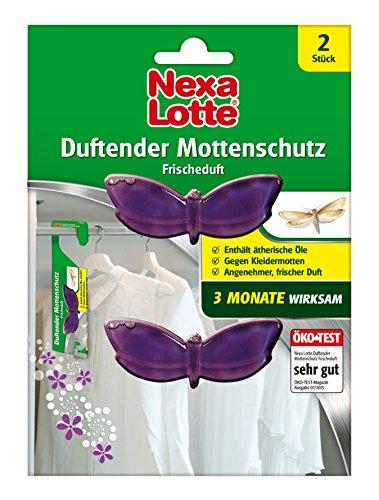 Nexa Lotte Duftender Mottenschutz, bekämpfend und abwehrend, 3 Monate...
