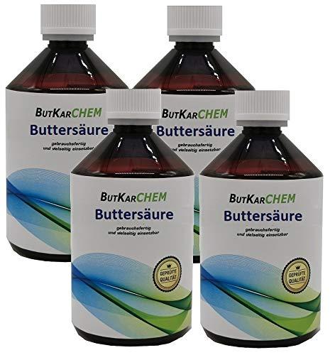 ButKarCHEM (4x250ml) Buttersäure (Varianten 250ml-3000ml) von Karbid 24 sehr...