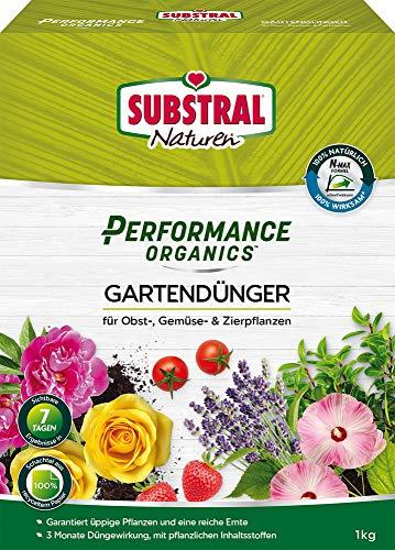 Substral Naturen Performance Organics Gartendünger, Organischer Dünger für...