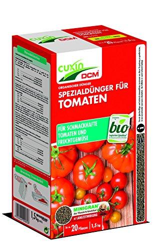 Cuxin BIO Tomatendünger mit 3 Monaten Langzeitwirkung | rein organischer...