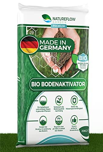 Natureflow Bio Bodenaktivator für Rasen - Nachhaltige Verbesserung der...