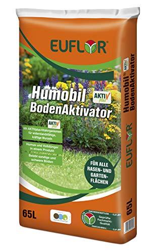 Euflor Humobil® Bodenaktivator AKTIVplus 65L Sack•hochwertiger Humus und...