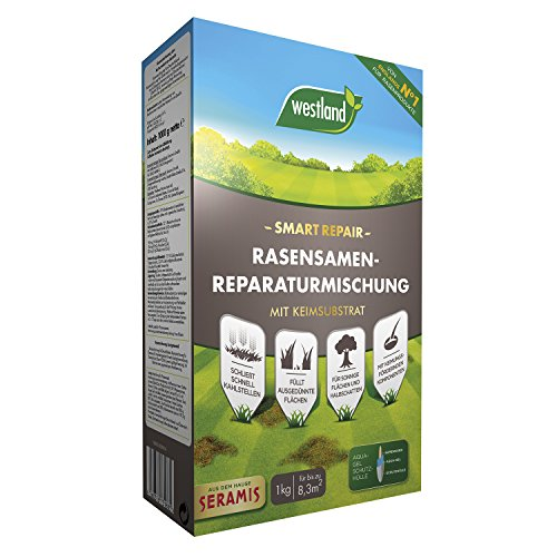 Westland Smart Repair Rasensamen-Reparaturmischung, Mit Keimsubstrat, Inkl....
