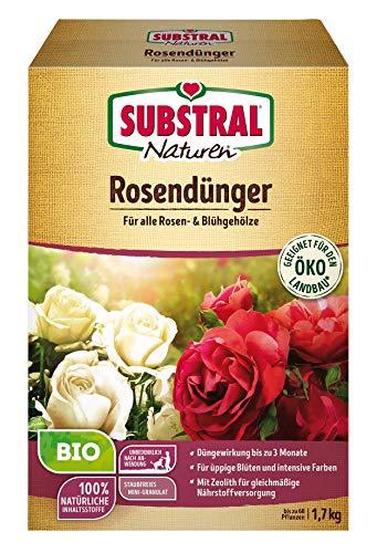 Substral Naturen Bio Rosen, Organisch-mineralischer Volldünger für alle...