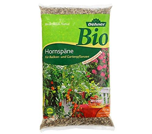 Dehner Bio Hornspäne mit Langzeitwirkung, für Balkon- und Gartenpflanzen, 5...