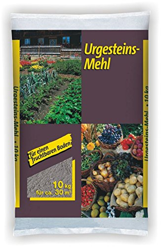 GP Urgesteinsmehl 10kg Sack Gesteinsmehl Steinmehl Natursteinmehl