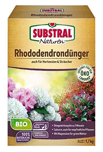 Substral Naturen Bio Rhododendron Dünger für Rhododendren und Hortensien,...