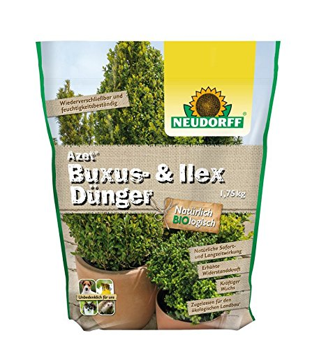 Azet Buxusbaum Dünger Kirschlorbeer Ilexdünger Langzeitdünger für...