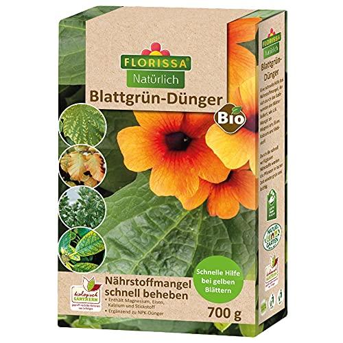 Florissa Natürlich 58522 Bio Blattgrün Plus | Erste Hilfe für grüne...