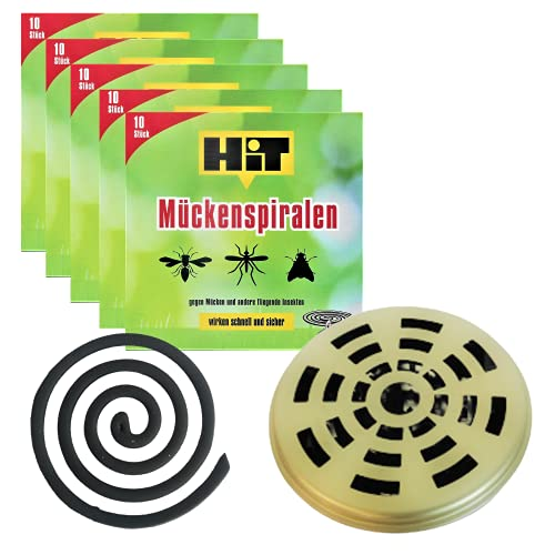 Insektenspirale anti mückenspirale gegen Mücken draußen die zuverlässige...