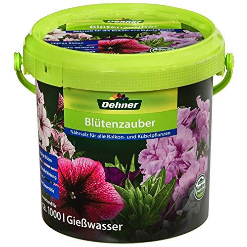 Dehner Blütenzauber, Spezialdünger für Balkon- und Kübelpflanzen, 1 kg, für...