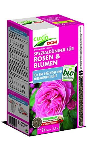 Cuxin BIO Rosendünger mit 3 Monaten Langzeitwirkung   auch für alle Blumen und...