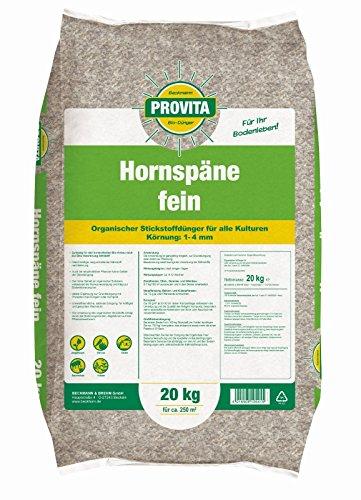 Hornspäne Horndünger fein Naturdünger Stickstoffdünger 20 kg