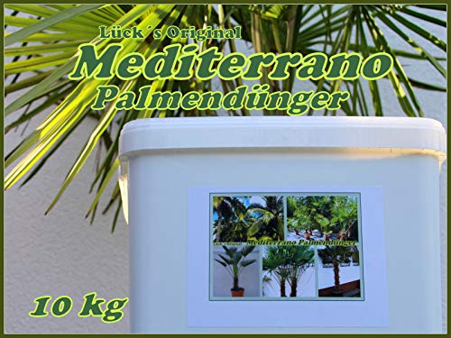 Palmendünger, Hanfpalmendünger, Freilandpalmendünger 10 Kg Original...
