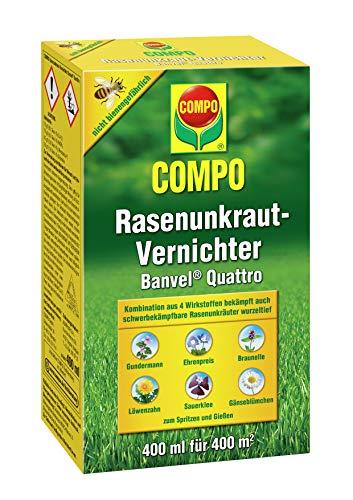 Compo Rasenunkraut-Vernichter Banvel Quattro (Nachfolger Banvel M), Bekämpfung...