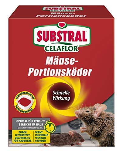 Substral Celaflor Mäuse-Portionsköder, Anwendungsfertiger Köder zur...