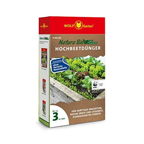 WOLF-Garten - 'Natura Bio' Hochbeetdünger N-HB 0,85 für ca. 7 m²/Jahr;...