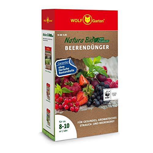 WOLF-Garten - 'Natura Bio' Beerendünger N-BE 0,85 für ca. 8-10 m²/Jahr;...
