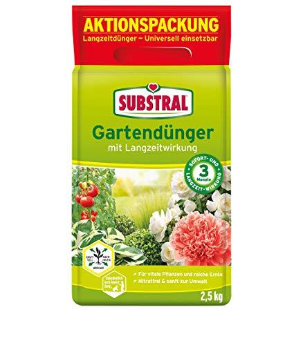 Substral Gartendünger mit Langzeitwirkung für Obst, Gemüse, Blumen,...