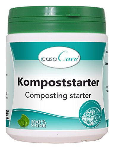 cdVet Naturprodukte casaCare Kompoststarter 500 g - Optimierung...